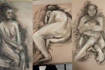 Charcoal Drawings